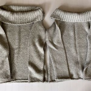 BUNDLE OF 2 New York & CO CHUNKY KNIT SWEATERS